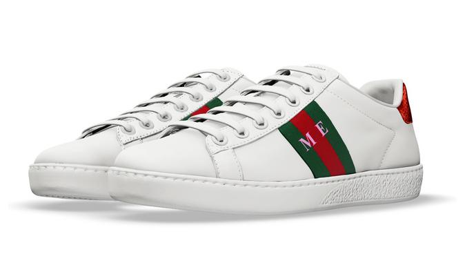 aacf387be6 ... Ace Sneakers de la casa italiana, los cuales a partir de hoy los puedes  personalizar con tus siglas cada uno (derecho e izquierdo) y elegir el  color que ...