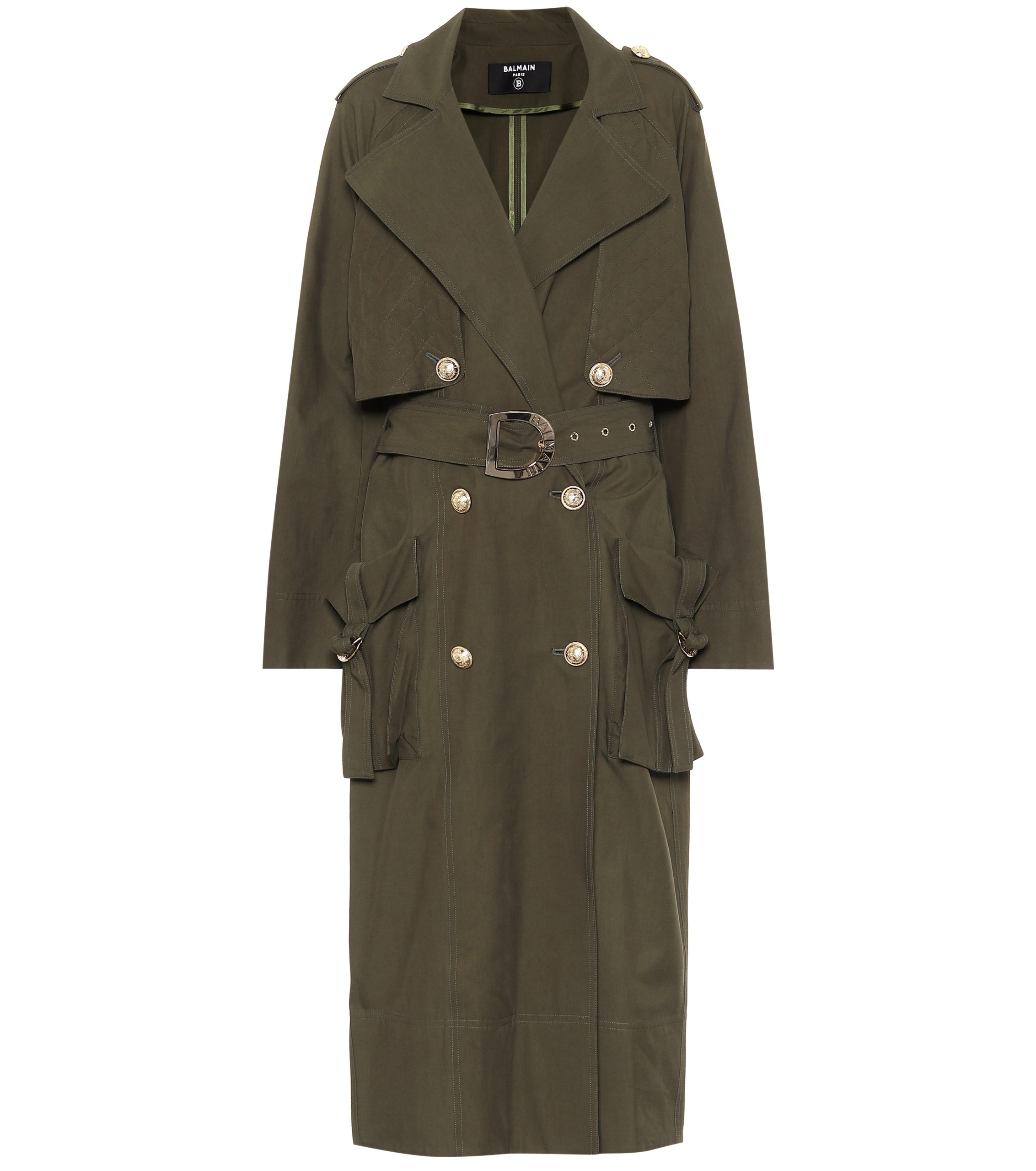 Trenchcoat BALMAIN via Mytheresa